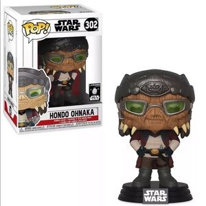 Funko Pop Star Wars 302 Hondo Ohnaka Disney Parks